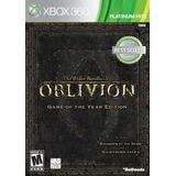 The Elder Scrolls Iv Oblivion - Edición Del Juego Del Año