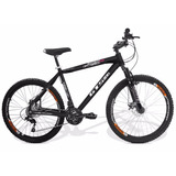 Bicicleta Mtb Expert- Gts M1 - 21vel. + Freio A Disco- Suspe