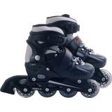 Patins Inline Rollers Skate Tam. M Preto - Bel Sports