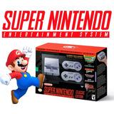 Super Nintendo Mini Snes Classic Edition Hdmi 21 Videojuegos