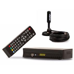 Conversor Tv Digital Isdb-t E Antena Interna Hdtv 3.5 Dbi