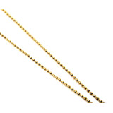 Cordão Bolinha Em Ouro Amarelo 18k