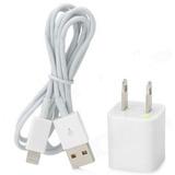 Combo Cargador Y Cable Certificado Iphone 6 6s 6c 7
