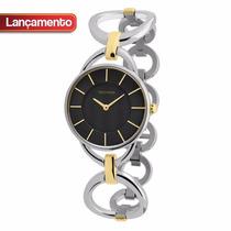 Relógio Technos Feminino Estilo Pulseira Fashion 1l22cw/1p