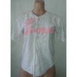 Camisa Franela De Leones De Caracas Para Dama