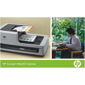 Scanner Scanjet Hp N8420 Duplex Frente E Verso Automático