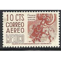 1953 Danza De La Pluma Oaxaca 10c. Sc. C209 Wmk 300 Mnh