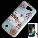 Capa + Pelicula P/ Lg Nexus K4 K130 Case Tpu Cart