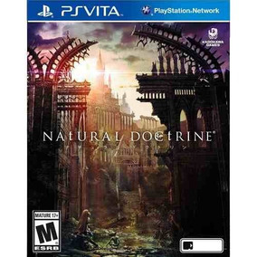 Jogo Midia Fisica Natural Doctrine Psvita Original Ps Vita