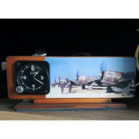 Relógio Elgin Aircraft 8 Dias - Wwii - Militar-avião-piloto