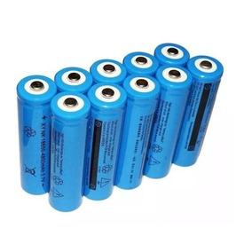 Kit 10 Baterias 18650 8800mah 3.7v Para Lanterna Tática