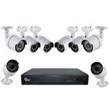 Kit Camaras Vigilancia 8 Canales + 8 Camaras Bala Qian Nuevo