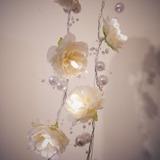Led Iluminação 20 Flores De Tecido,festa,aniversario,eventos