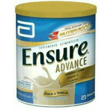 Ensure Advance 850g-nutrivigor X 12 U. Promoción