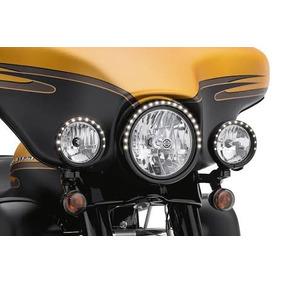 Kit Aro Farol E Auxiliares Led Original Harley Davidson