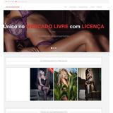 Agência Clix Site Acompanhante Template Wordpress
