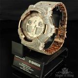 Exclusivo Mens Lab Diseño Personalizado Diamante Reloj