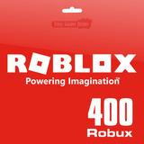 Roblox - Tarjeta De 400 Robux