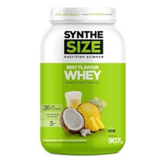 Best Flavour Whey Vários Sabores Pote 907g Synthesize