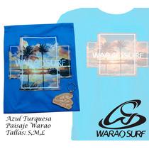 Franelas Warao Surf Quiksilver Hurley Hollister Al Detal