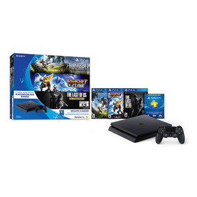 Consola Play Station 4 Ps4 500gb + Horizon Dawn + Ratchet &