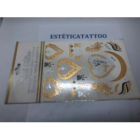 Duas Cartelas Tatuagens Temporárias Frete Grátis Todo Brasil