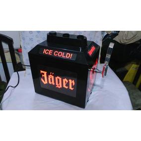 Dispensador Enfriador De Bebidas Jagermeister.