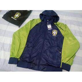 Brasil Agasalho Completo Azul Casacos - Jaqueta para Masculino no ... 11d94cded3d9a