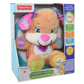 Fisher Price - Irma Do Cachorrinho Aprendendo A Brincar Cgr