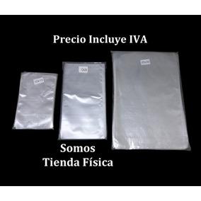 Bolsa Celofán Transparente 5 X 11 Cm Paquete 100 Bolsas