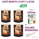 Café Marita 3.0 Original 4 Latas 1 Stevia 1 Colher