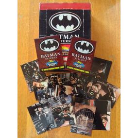 Set De 4 Sobres Topps Stadium Batman Returns Tim Burton