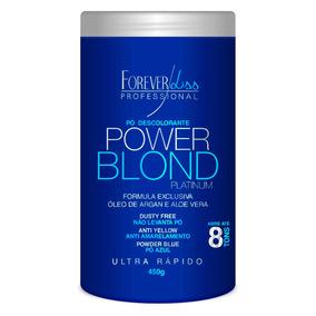 Forever Liss Pó Descolorante Power Blond 450gr