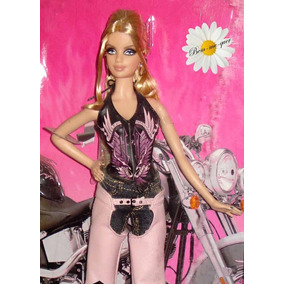 Barbie Collector Edition Harley-davidson 2008 No Brasil Com