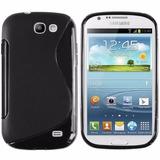 Capa Tpu S-type + Película Samsung Galaxy Express I8730