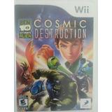 Jogo De Nintendo Wii - Ben10 - Cosmic Destruction