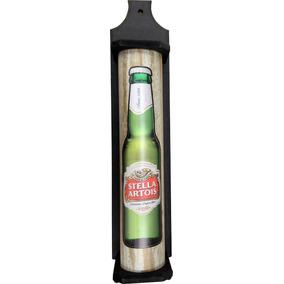 Porta Espeto Rústico Stella Artois Churrasco Area De Lazer