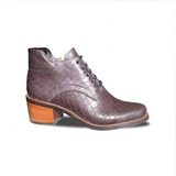 Botin Bota Madison Gris Topo Zapato De Diseño The Mood