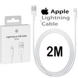 Cable Lightning Original Apple Iphone 5s 6 6s 7 8 Plus X 2mt