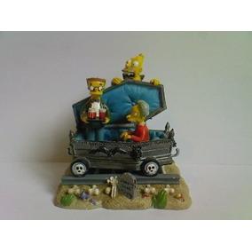 Figura De Los Simpsons Mr Burns Hamilton Tren De Halloween