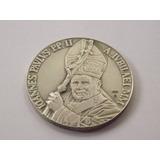 Medalla De Plata Del Papa Juan Pablo Ii Por Jubileo Año 2000