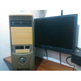 Pc Dual Core 2gb Ram/ 232gb Dd. Cpu,monitor,teclado Y Mouse