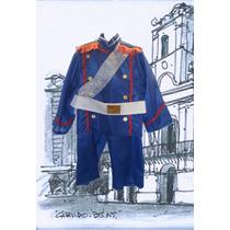 Disfraz Granadero Soldado Patrio Escolar Para Nene