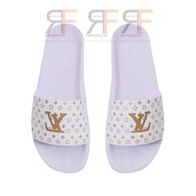 Chinelo Gucci - Chinelos para Masculino Branco no Mercado Livre Brasil fc59ae7233e