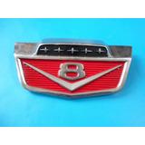 Emblema Cofre V8 Camioneta Ford Camion Clasico Original.