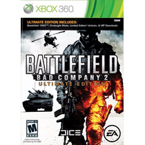 Battlefield Bad Company 2 Ultimate Edition Nuevo Xbox 360