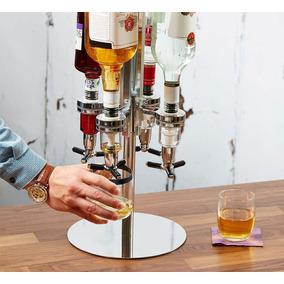 Bar Dispenser Dosador Giratório P/ 4 Garrafas