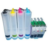 Sistema Tinta Continua Para Uso Epson Xp211 Xp411 Xp101 201