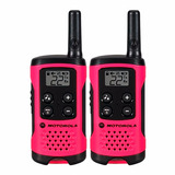 Walkie Talkie Handy Motorola 25km 22 Canales 12 Cuotas S/rec