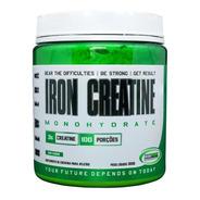 Creatina 300g  Ironwork - Iron Creatine Monohidratada Em Pó